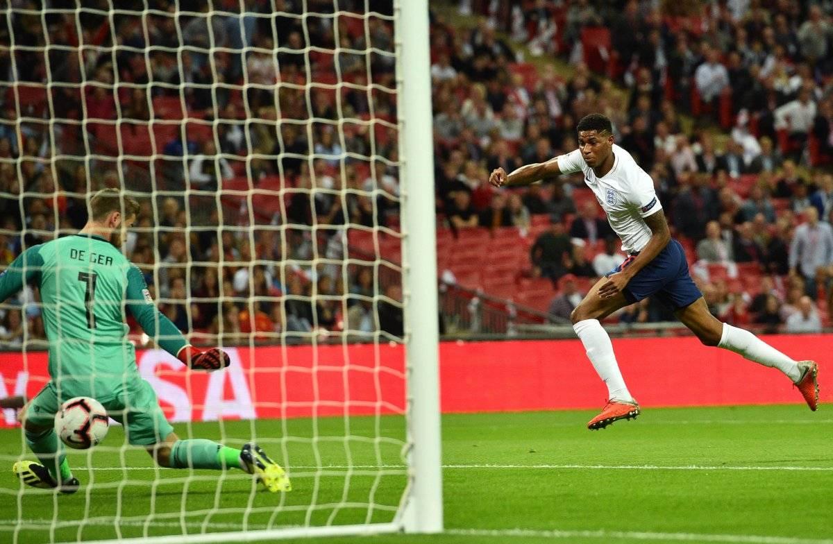 Inglaterra se había puesto en ventaja