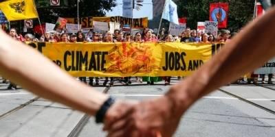 Rise for climate, manifestación a favor del clima