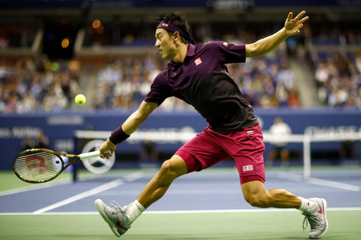 Nishikori no pudo ante Djokovic