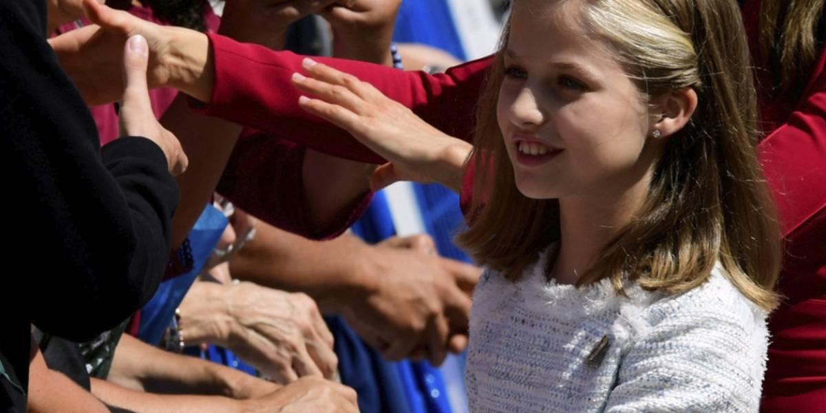 La princesa Leonor se convierte en la protagonista de una celebración múltiple en España
