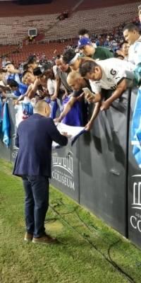 La afición guatemalteca apoyo de inicio a fin a la selección.