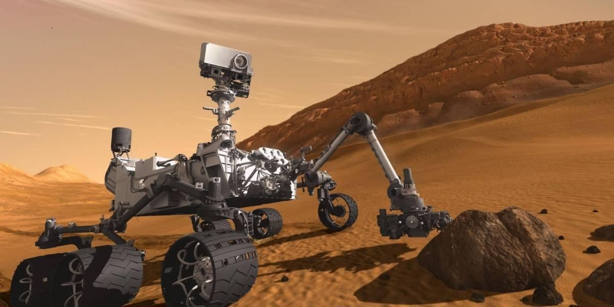 Robot de la NASA captó dos eclipses solares en el planeta Marte