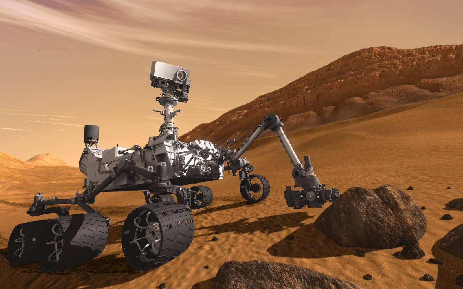 Observa esta imagen 360° de Marte tomada por el rover Curiosity de la NASA