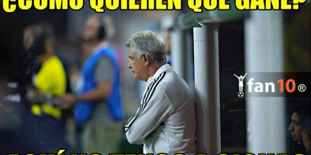 Los memes que dejó la derrota de México ante Uruguay