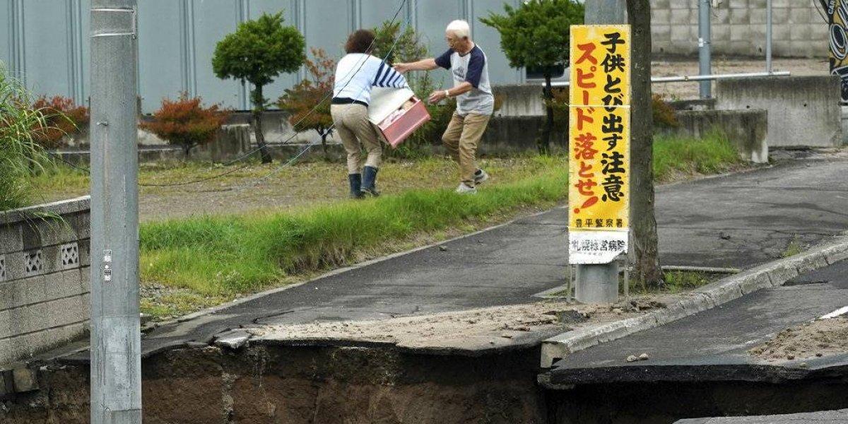 Aumenta cantidad de muertos tras sismo en Japón