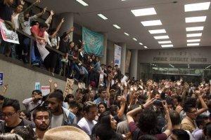 CNDH pide información sobre agresiones en Rectoría