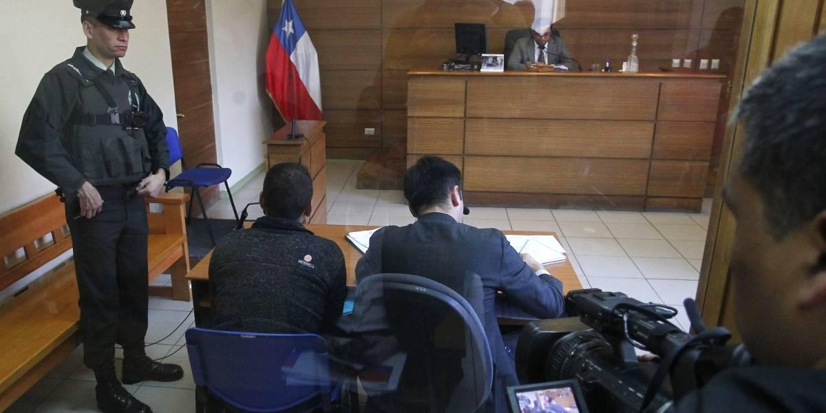 La Araucanía: en prisión preventiva quedó acusado de asesinar de 28 puñaladas a mujer embarazada