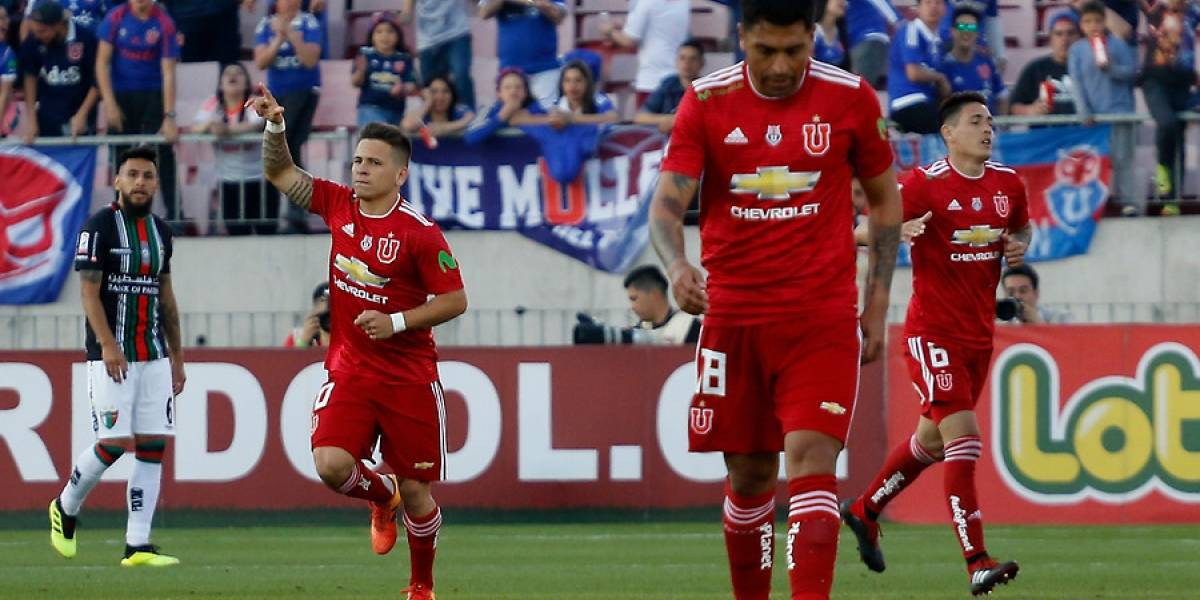 La U no escapa de sus dramas y apenas logra un empate ante Palestino por Copa Chile