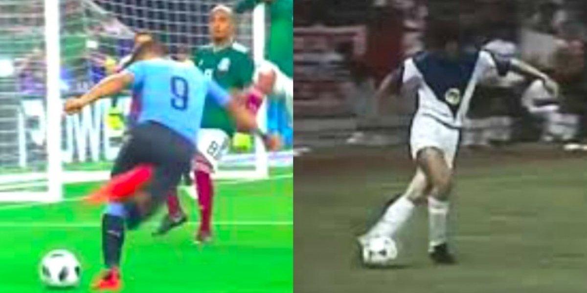 VIDEO: El pase de rabona de Luis Suárez que hizo recordar el gol de Toninho a Chivas