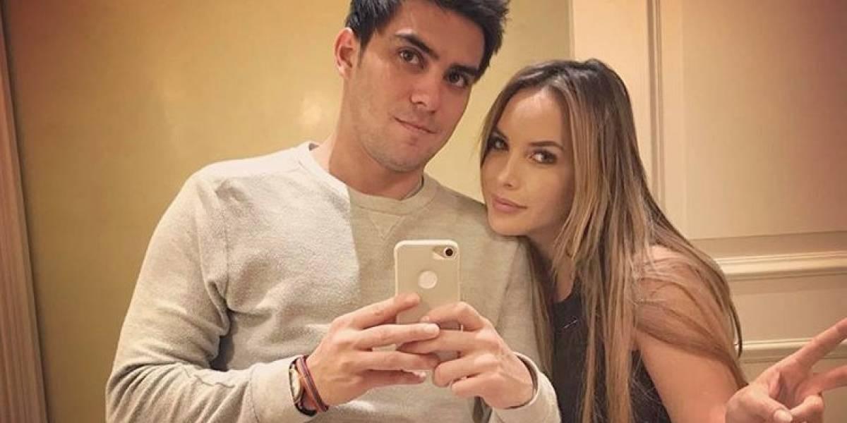 La escena de celos que Carlos Scavone le hizo a Érika Vélez