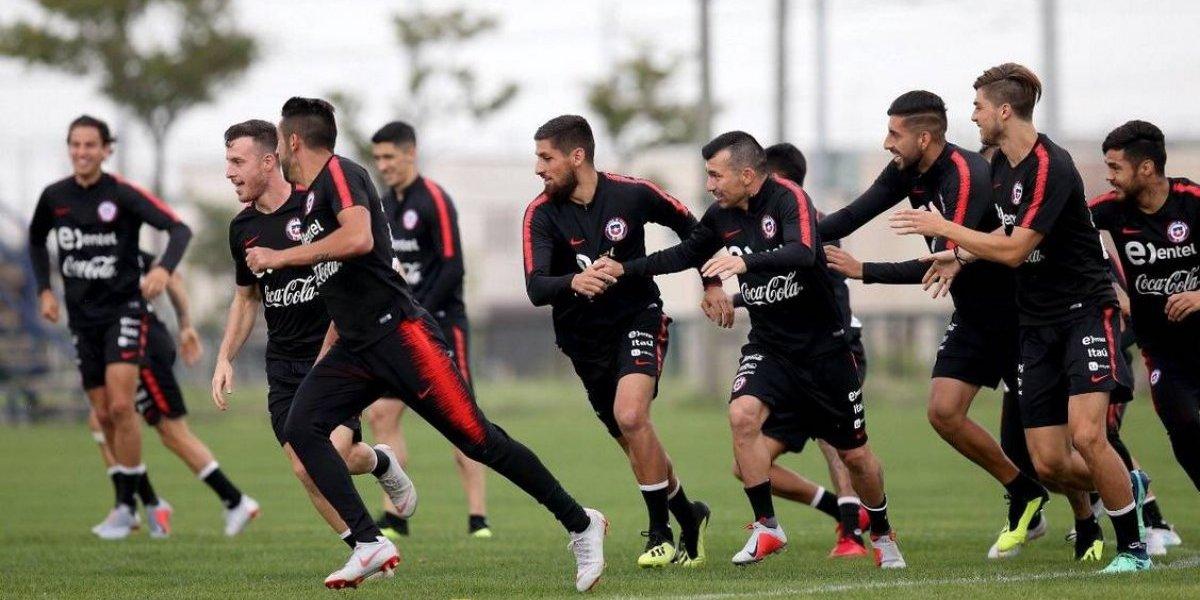 La Roja dejó atrás los sustos de Japón al completar su primer entrenamiento en Corea del Sur
