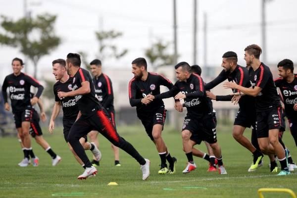 La Roja ya prepara el duelo ante Corea del Sur / Foto: ANFP