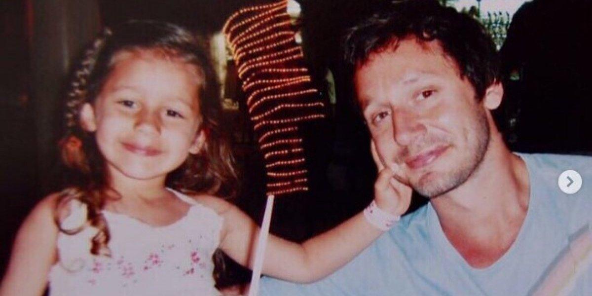 Benjamín Vicuña publica video de su hija y la recuerda con un sentido y conmovedor mensaje