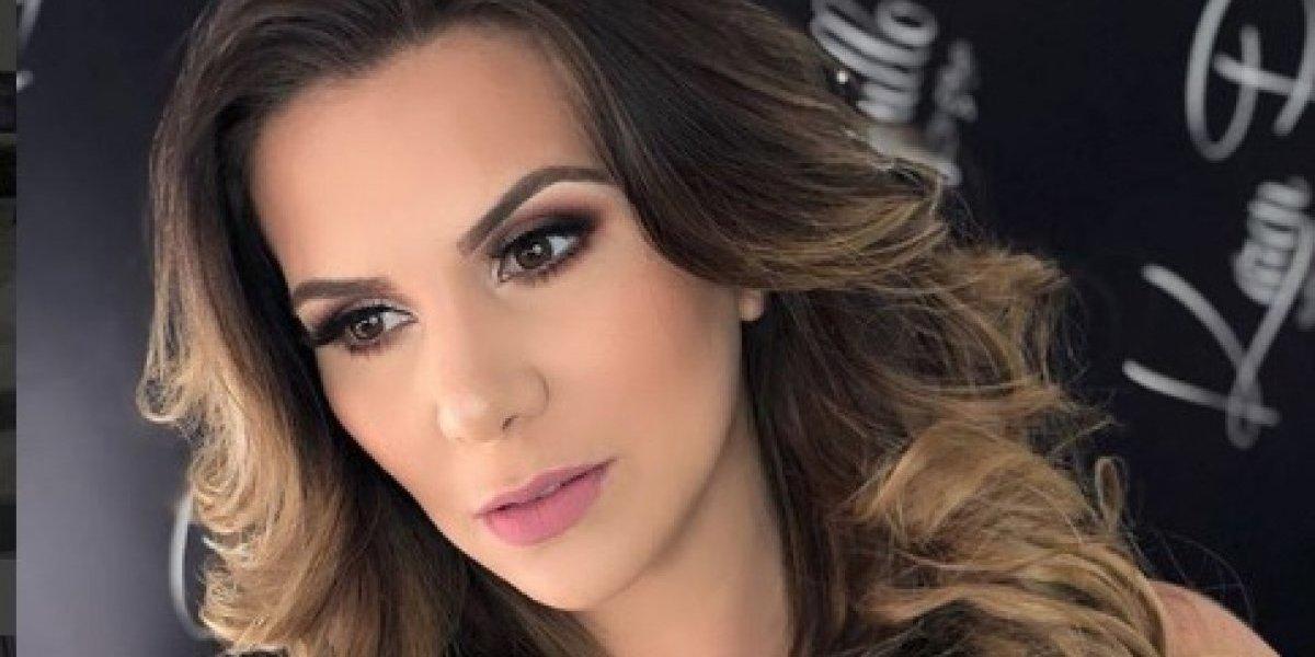 Maquillaje de Carolina Jaume alborota a las redes sociales
