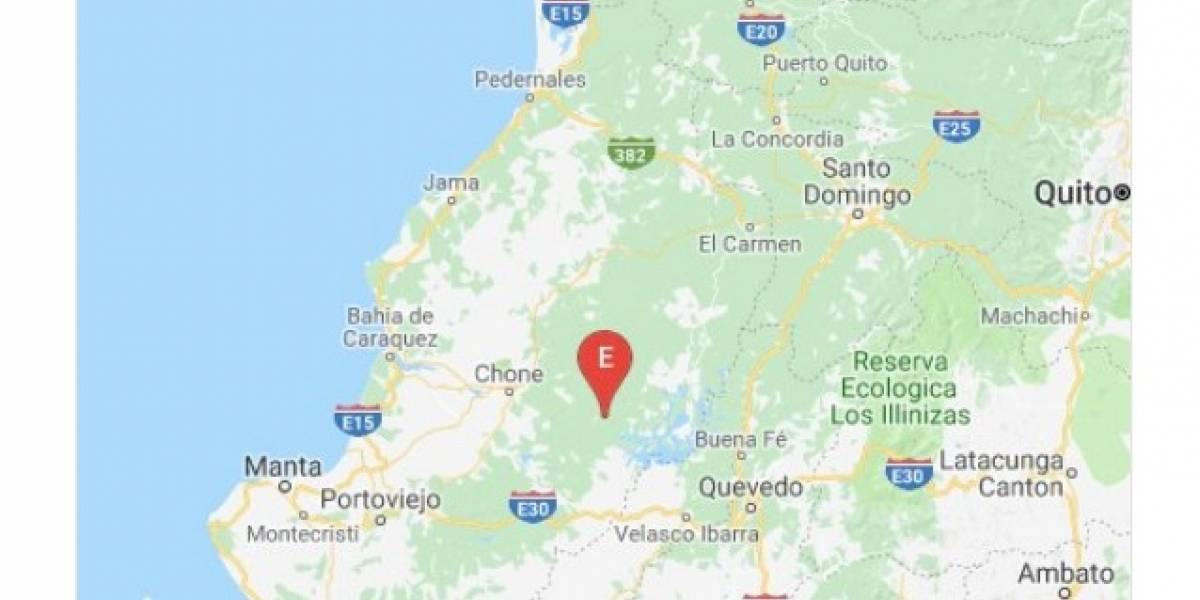 Manabí y El Oro: Dos sismos se reportaron en Ecuador este sábado
