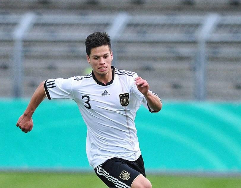 Cincotta con la selección de Alemania
