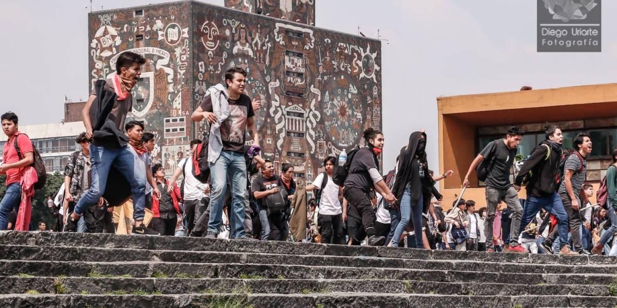 Liberan a dos detenidos por agresiones contra estudiantes en Rectoría