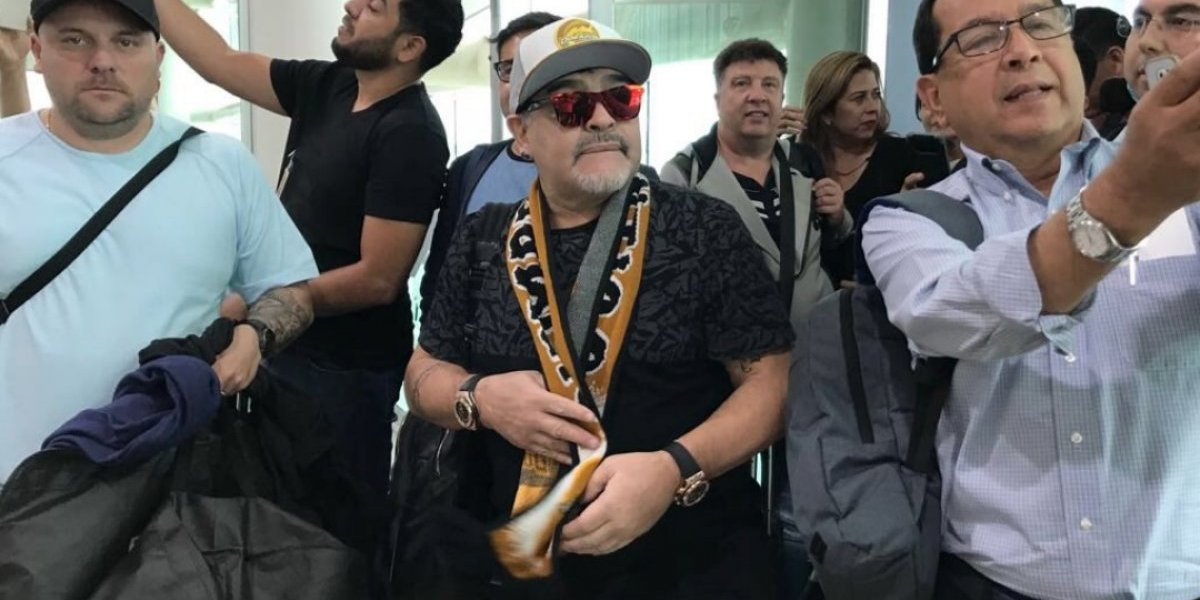 EN VIVO: Presentación de Diego Armando Maradona como entrenador de Dorados