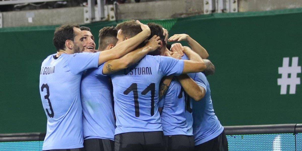 Uruguay golea al Tricolor en debut de Ricardo Ferretti