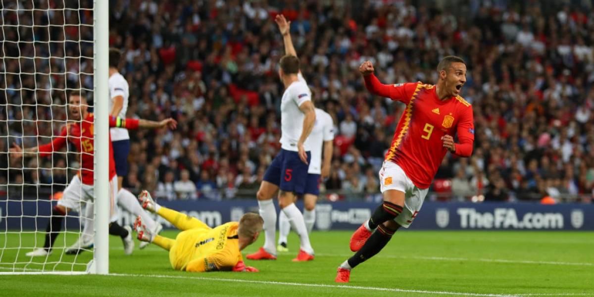 España de Luis Enrique debutó con un triunfo en Wembley ante Inglaterra por la Nations League