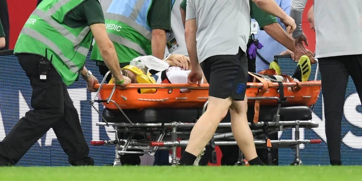 VIDEO: El choque que dejó inconsciente a jugador de Inglaterra ante España