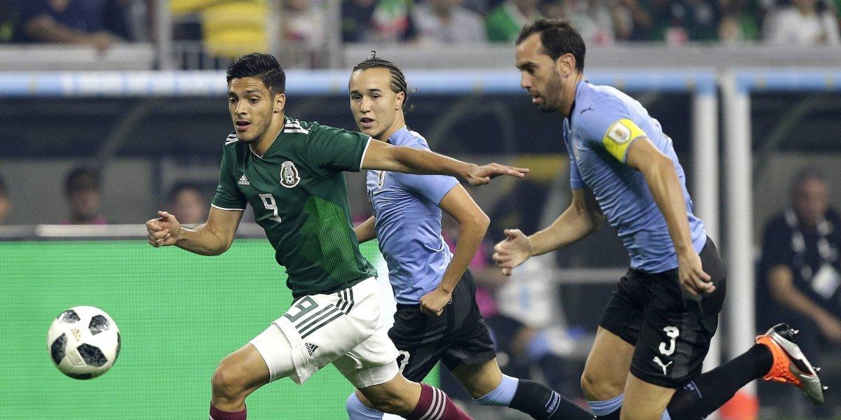 Uruguay golea al Tri del 'Tuca' Ferretti en la fecha FIFA