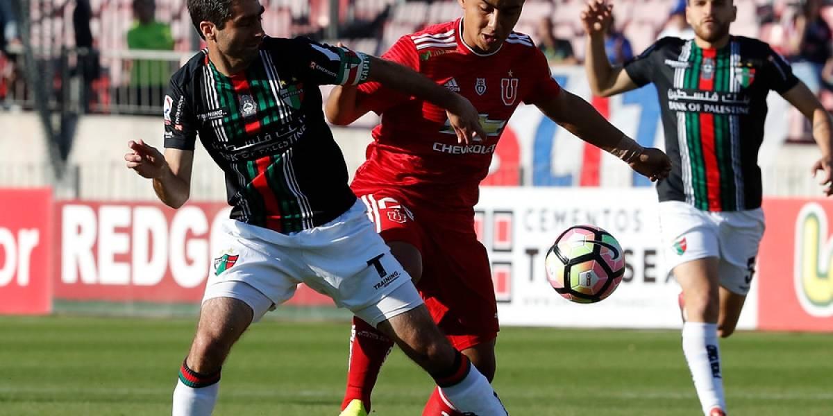Así vivimos el empate entre la U y Palestino por Copa Chile