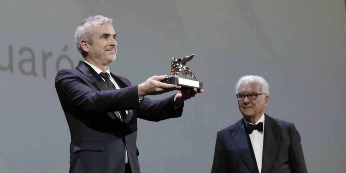Alfonso Cuarón gana el León de Oro en Festival de Cine de Venecia
