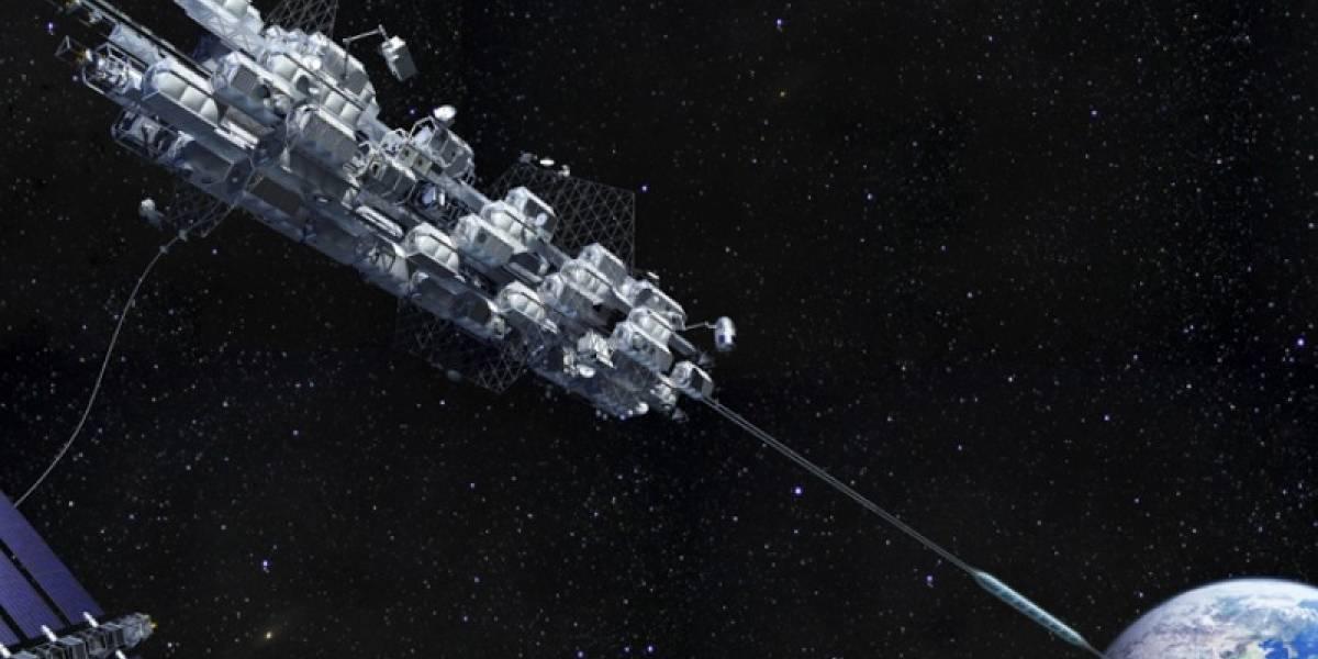 ¿Un ascensor para viajar al espacio? Eso sería posible en un futuro