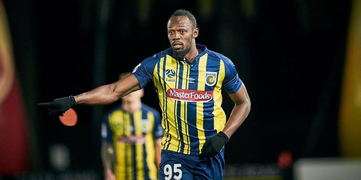 Usain Bolt pausará sus pruebas de futbol con el Central Coast Mariners