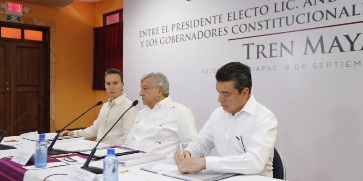 Tren Maya podría quedar listo en tres o cuatro años: AMLO