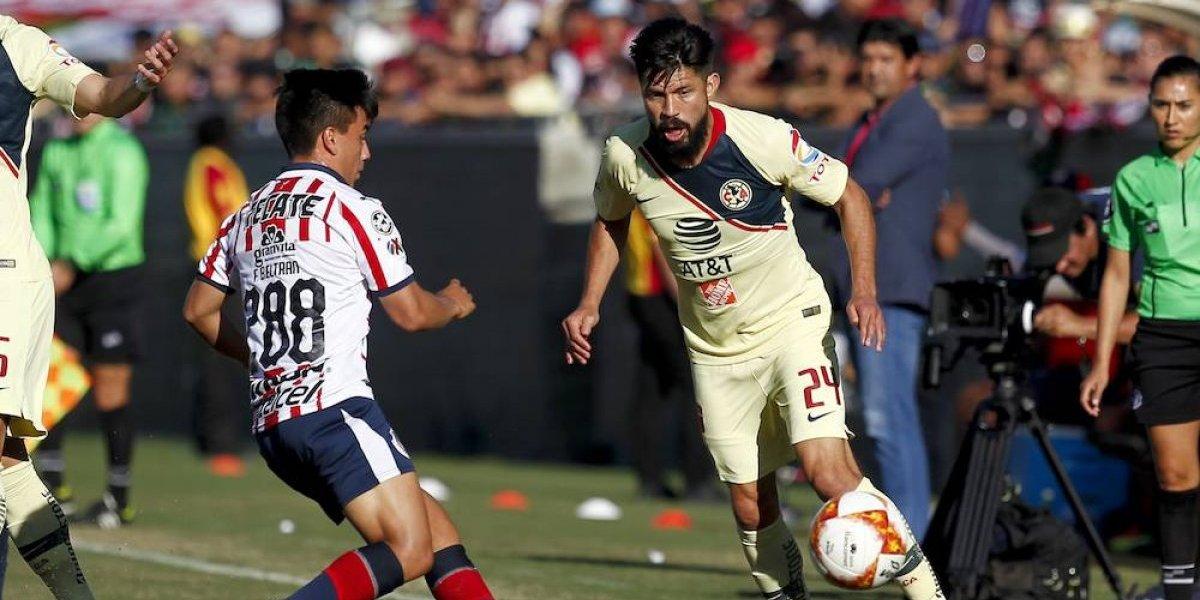 América y Chivas igualan en el Clásico disputado en EU
