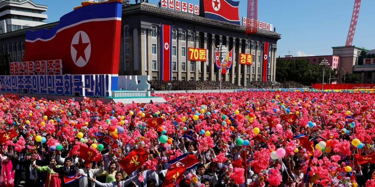Sem míssil de longo alcance, Coreia do Norte celebra 70 anos