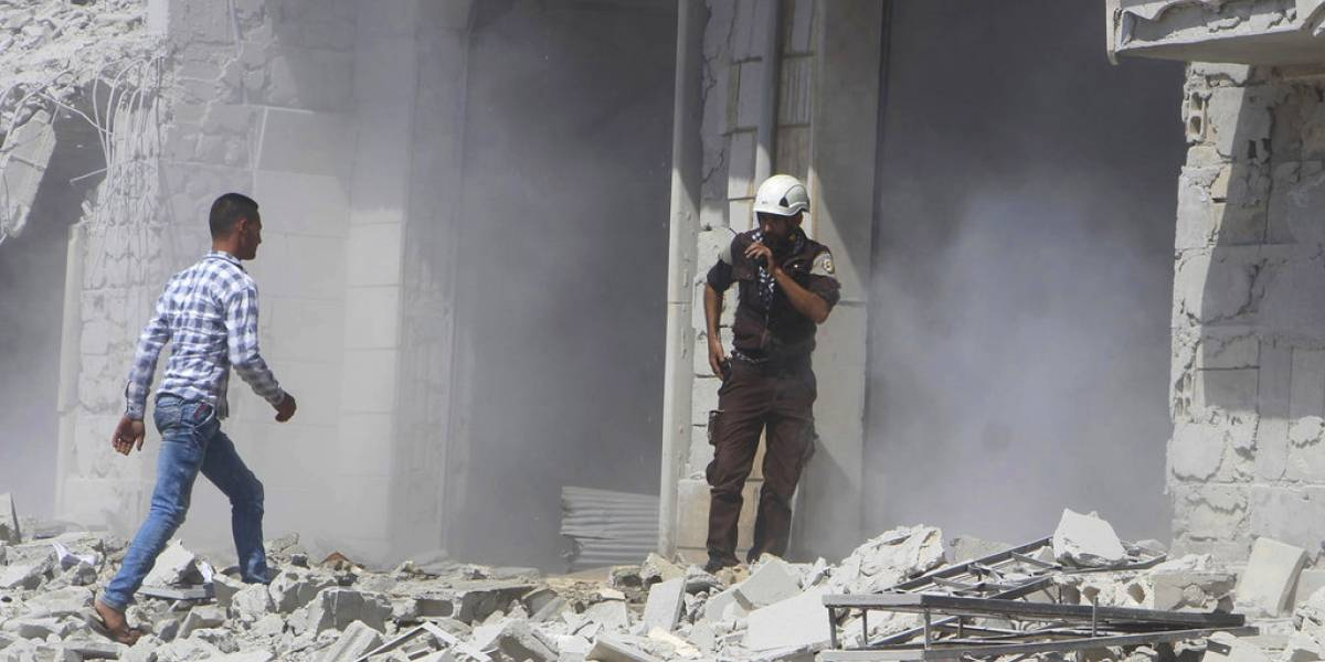 Bombardeo en Siria deja una niña muerta