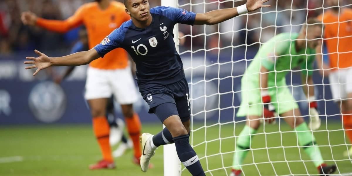 El campeón del mundo no falla: Francia derrotó a Holanda por la Nations League
