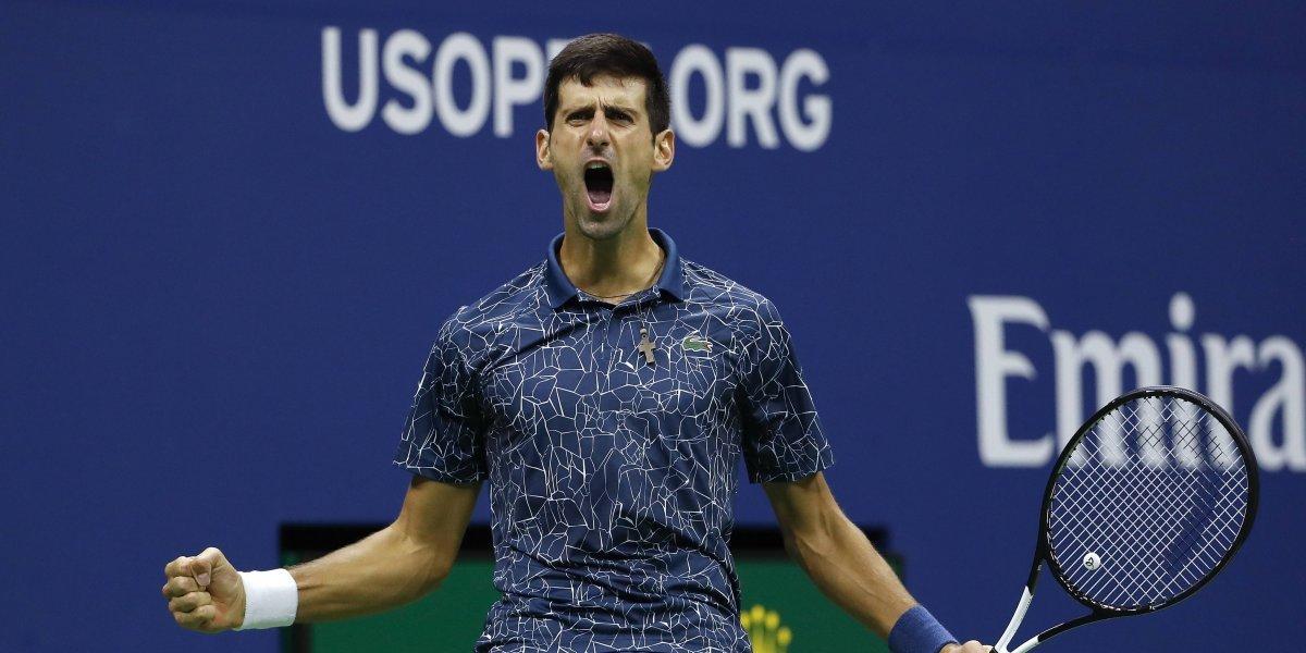 Djokovic doma a Del Potro y conquista su 3er US Open