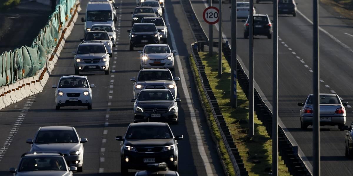 Estas son las medidas del Gobierno para evitar atochamientos en autopistas durante el retorno a Santiago