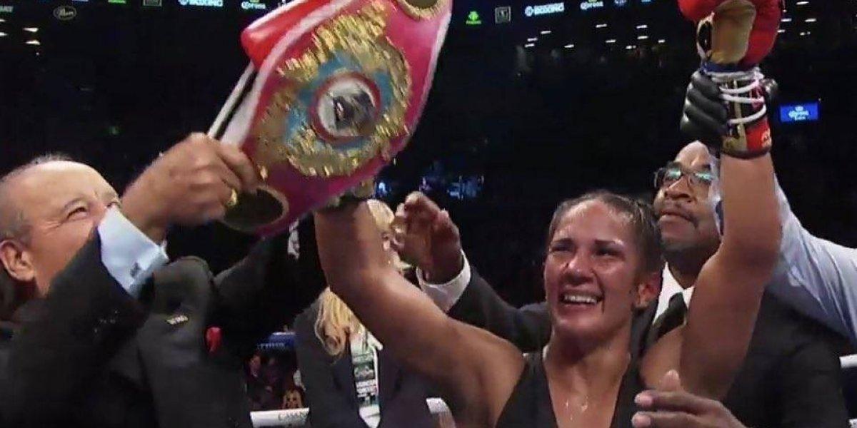 Amanda Serrano entra en la historia: única mujer campeona en seis divisiones