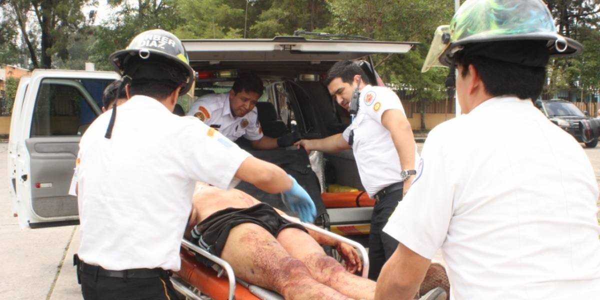 Balacera en canchas de futbol deja dos muertos y dos heridos