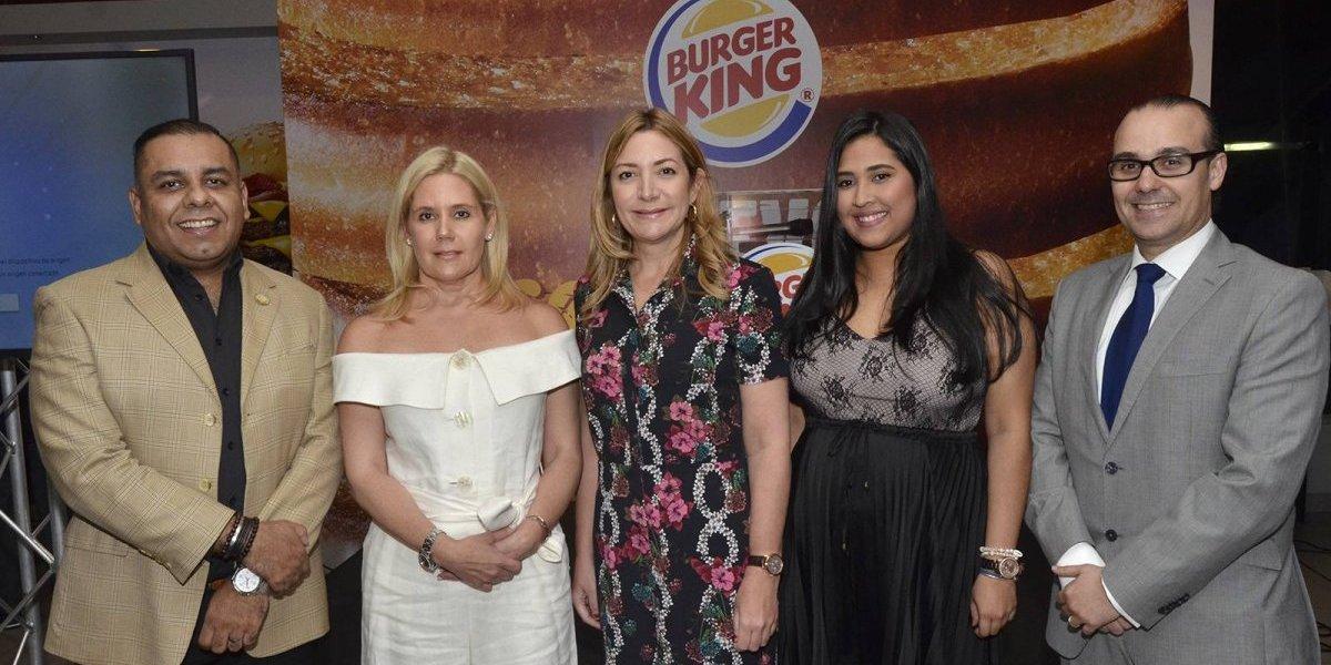 #TeVimosEn: Burger King introduce sus nuevos productos al mercado local