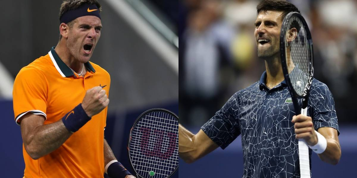 Juan Martín del Potro VS. Novak Djokovic: ¡Final de lujo en el US Open!