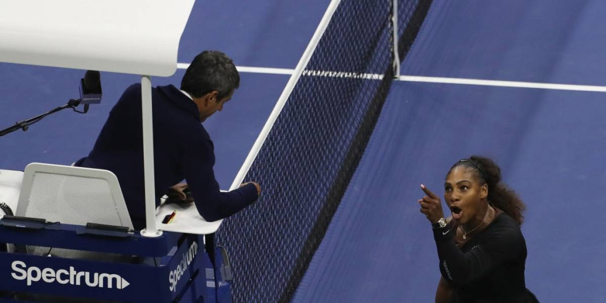 El durísimo castigo que recibió Serena Williams por su noche de furia en el US Open