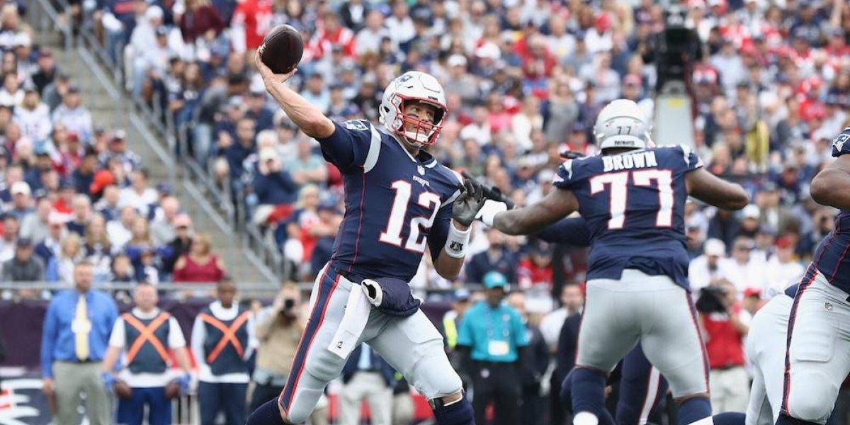 Brady y Patriots arrancan con triunfo sobre los Texans