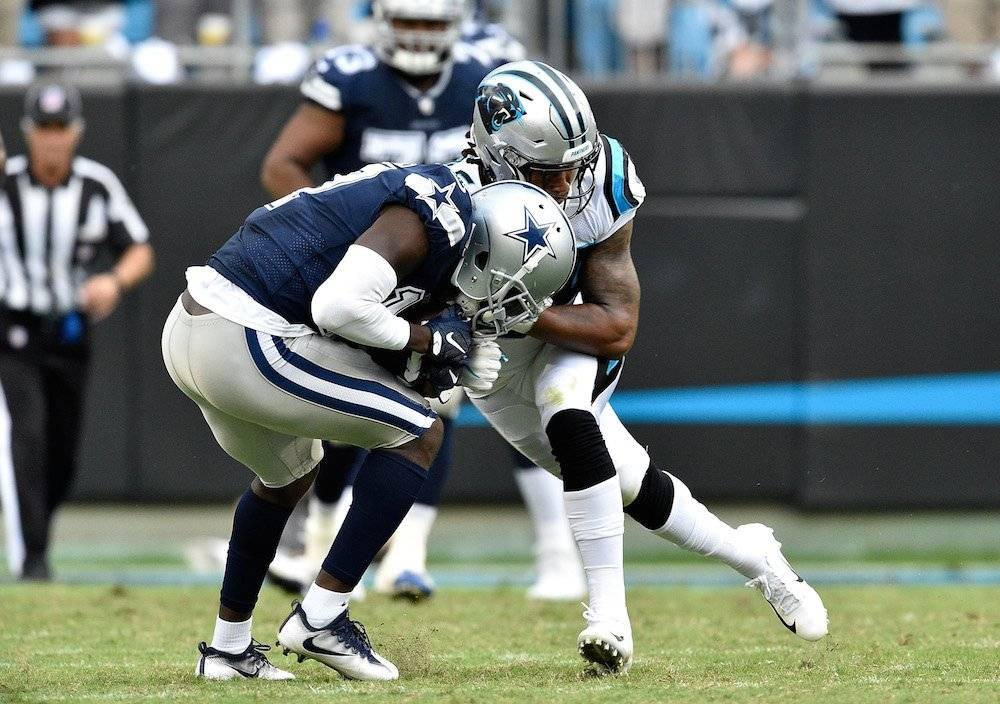 Newton y defensiva de Panthers vencen a Cowboys