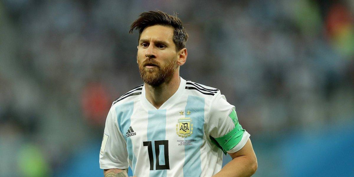 Messi tendría pensado regresar con Argentina