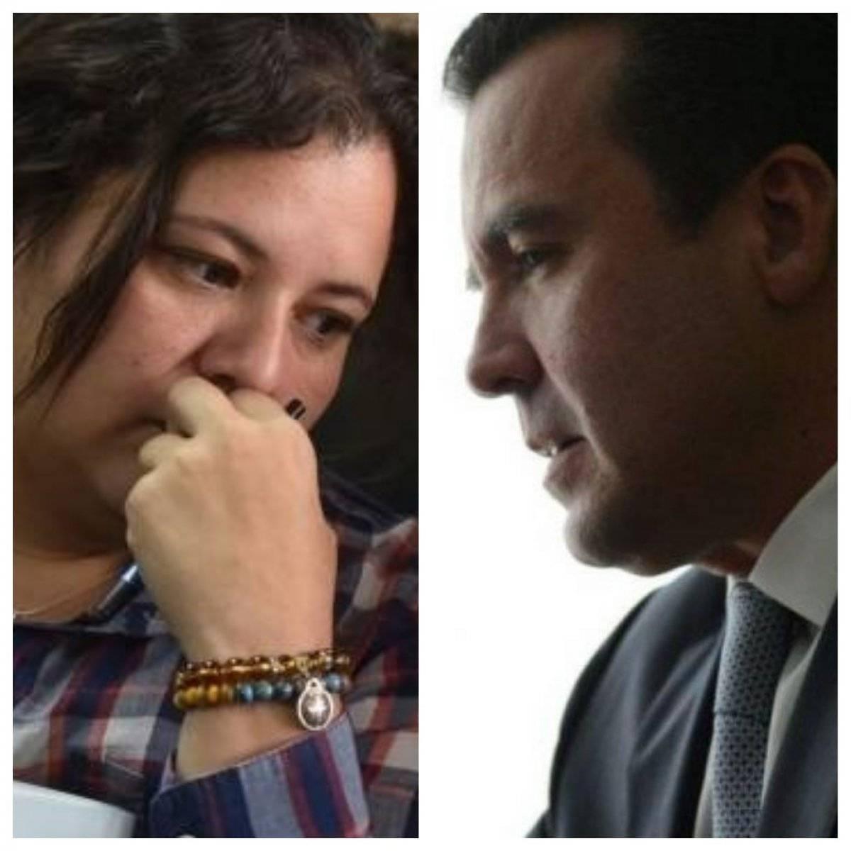 Anelisse Herrera, colaboradora eficaz del MP, y Alejandro Sinibaldi. Foto: Publinews