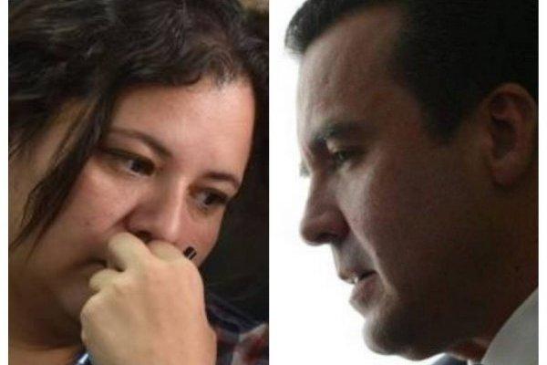 Anelisse Herrera y Alejandro Sinibaldi