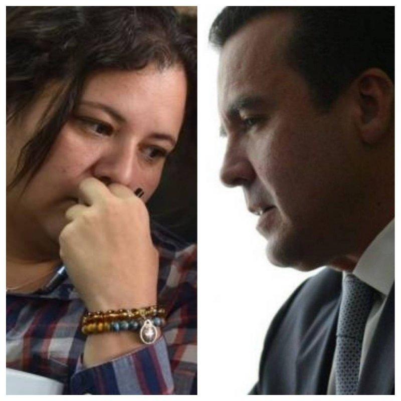 """Anelisse Herrera, colaboradora eficaz del MP en el caso """"Construcción y corrupción"""", afirmó que Alejandro Sinibaldi tenía relación con las acciones ilícitas. Foto: Publinews"""
