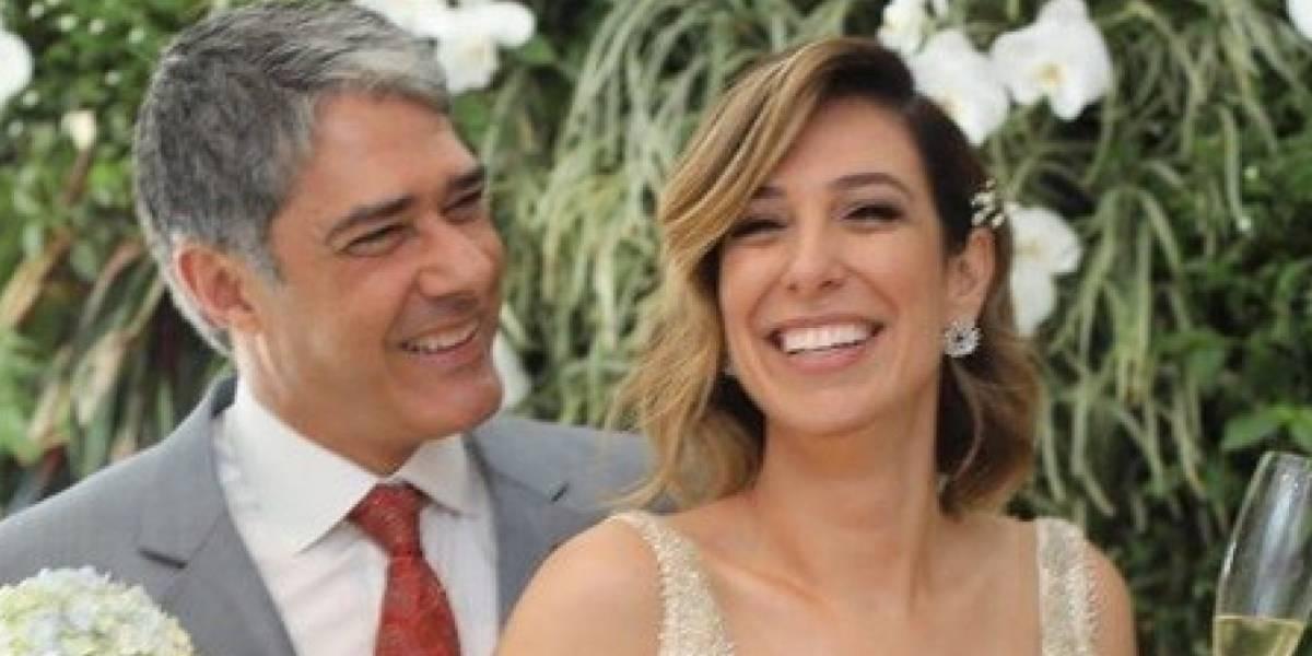William Bonner se casa com Natasha Dantas em cerimônia íntima; veja fotos