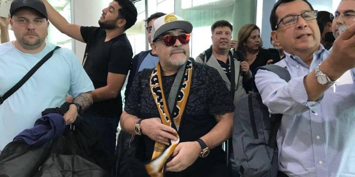 Maradona revoluciona a la prensa: 200 periodistas para su presentación